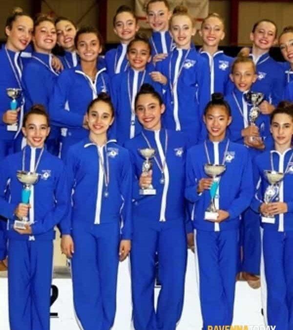 Ginnastica ritmica, Endas Cervia stravince al Campionato d'insieme gold