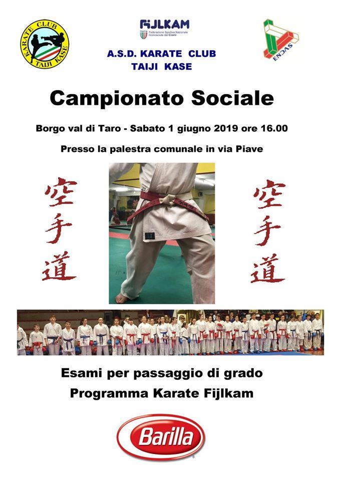 Campionato Sociale Karate